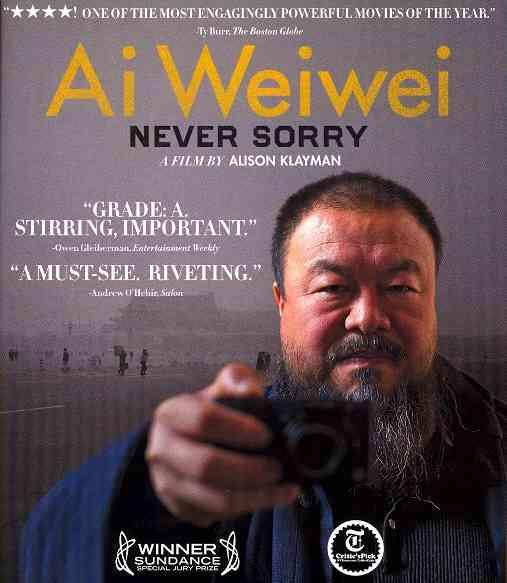 AI WEIWEI:NEVER SORRY BY WEIWEI,AI (Blu-Ray)